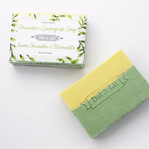 Dot & Lil Coriander and Lemongrass Soap - Bath & Body - SierraLily