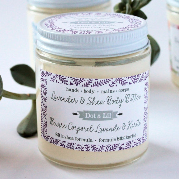 Dot & Lil Lavender Body Butter - Bath & Body - SierraLily