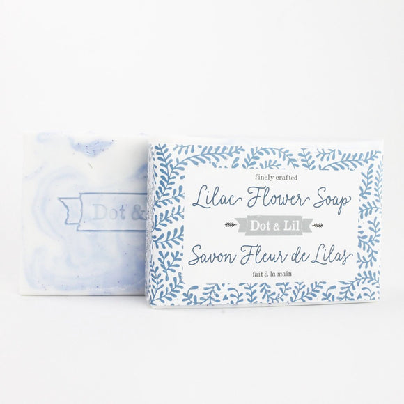Dot & Lil Lilac Flower Soap - Bath & Body - SierraLily