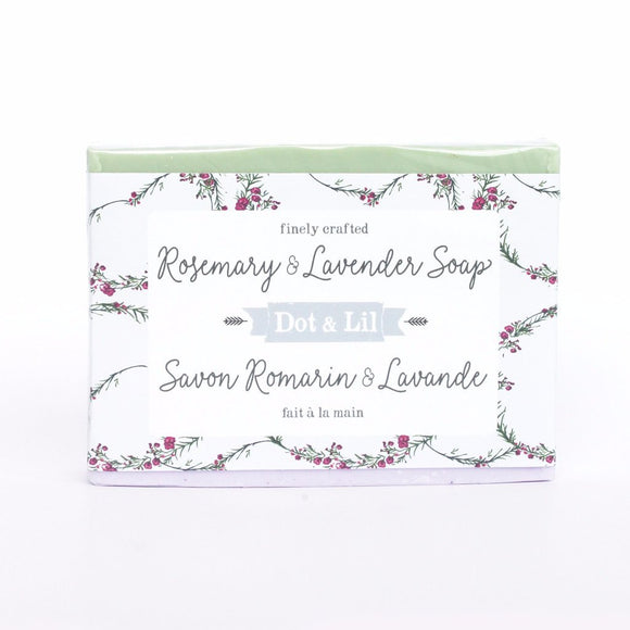 Dot & Lil Rosemary and Lavender Soap
