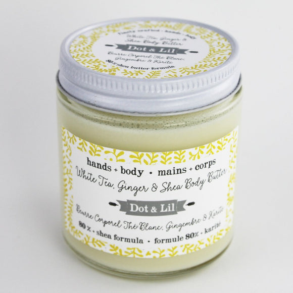 Dot & Lil White Tea and Ginger Body Butter