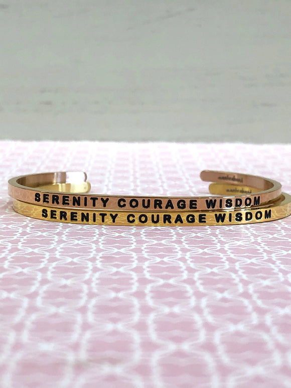 Serenity Courage Wisdom Mantra Band - Jewelry - SierraLily