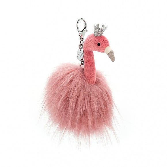 Jellycat Fancy Flamingo Bag Charm