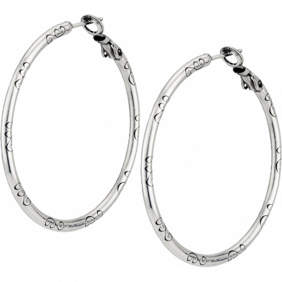 Large Earring Charm Hoops - Jewelry - SierraLily