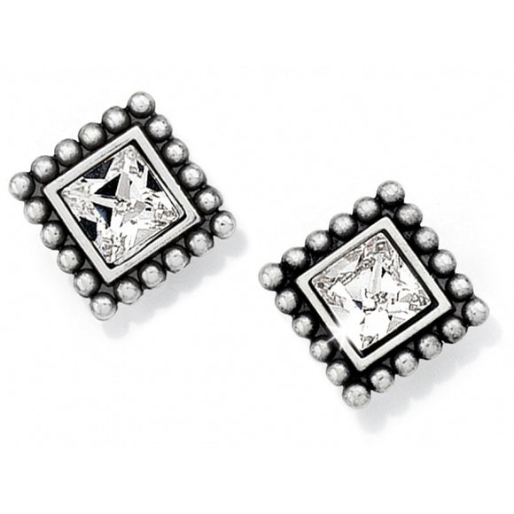 Sparkle Square Mini Post Earrings - Jewelry - SierraLily