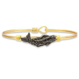 Luca + Danni Mermaid Bangle Bracelet in Gold - Jewelry - SierraLily