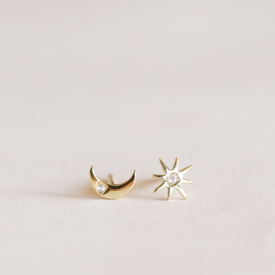 Jax Kelly Sun & Moon Earrings