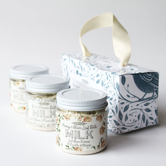 Dot & Lil Milk Bath Trio Gift Set