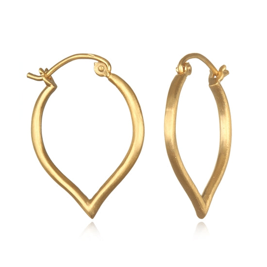Satya Jewelry Gold Hoop Earrings