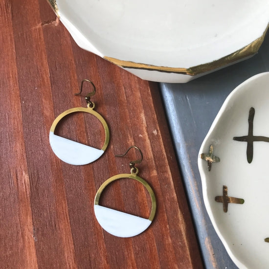 Dear Darlington Vanilla Bean Earrings