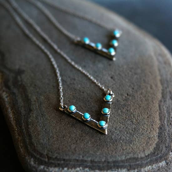 Sowell Jewelry Jacy Turquoise Choker Necklace