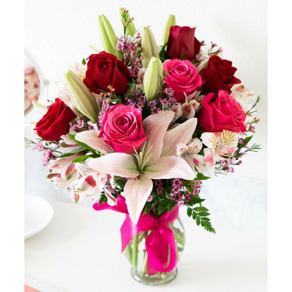 Blooms of Roses & Lilies-Flowers-LTM Endeavors Gifts