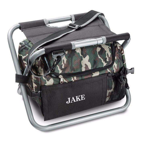 Camouflage Sit' n Sip Cooler Chair-lugage-LTM Endeavors Gifts