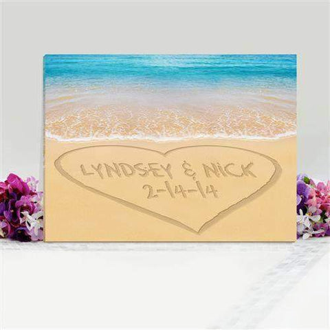 Caribbean Sand Canvas Sign-Her-LTM Endeavors Gifts