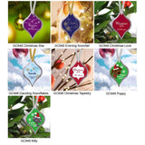 Christmas Ornament - 7 Designs-Home Decor-LTM Endeavors Gifts