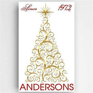 Christmas Tree Canvas Sign-LTM Endeavors Gifts