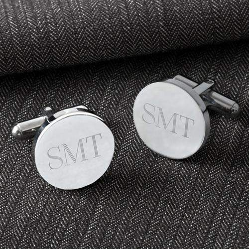 Classic Round Cufflinks-jelewery-LTM Endeavors Gifts