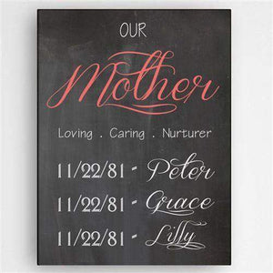 Definition of A Mother Canvas Sign-Home Decor-LTM Endeavors Gifts