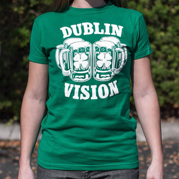 Dublin Vision T-Shirt (Ladies)-Ladies T-Shirt-LTM Endeavors Gifts