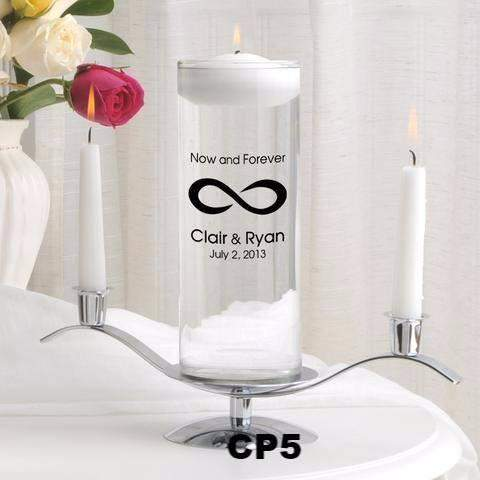 Floating Unity Candle Sets - 7 Designs-Unity Candle-LTM Endeavors Gifts