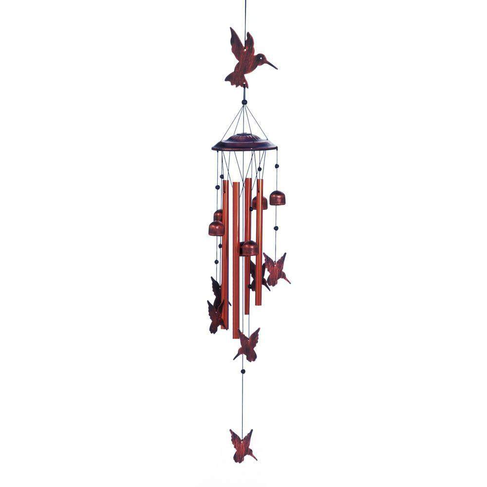 Fluttering Hummingbirds Chimes-Windchimes-LTM Endeavors Gifts