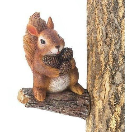 Gathering Squirrel Tree Decor-Garden decor-LTM Endeavors Gifts