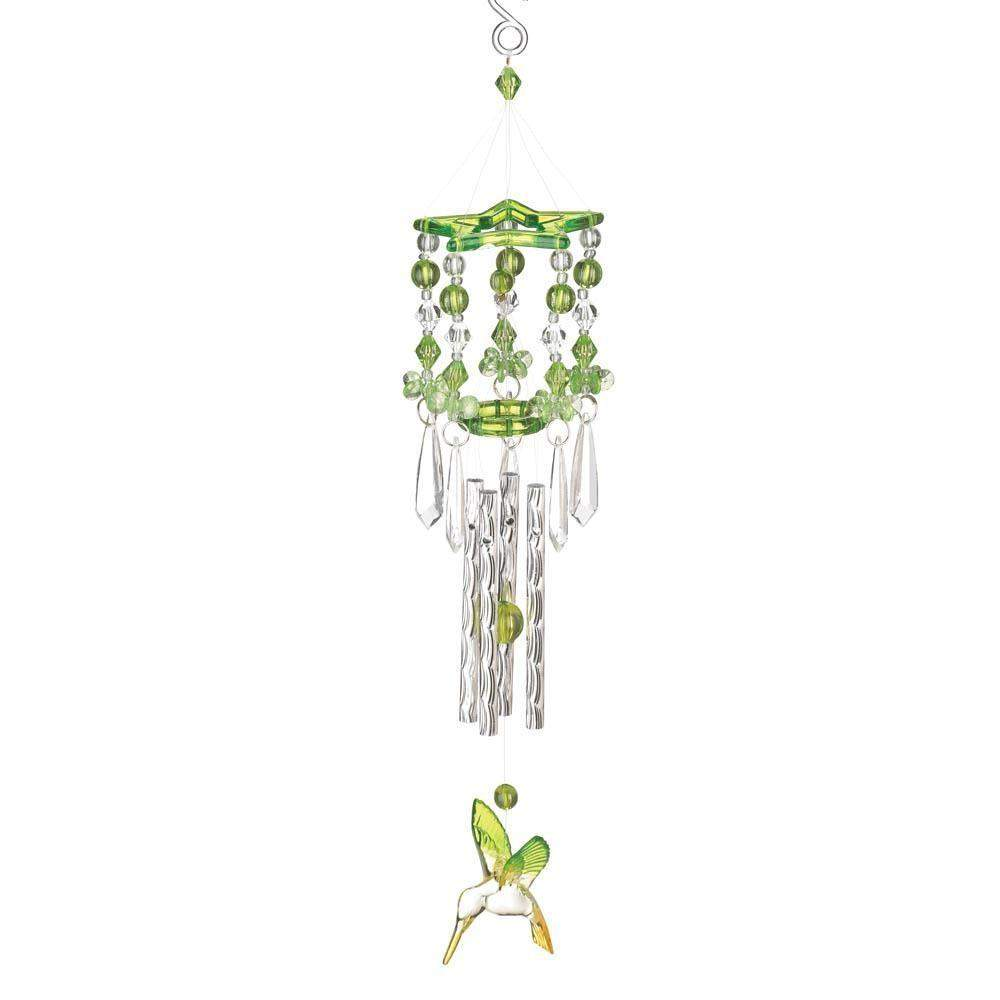 Green Hummingbird Chime-Windchimes-LTM Endeavors Gifts