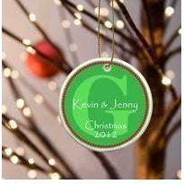 Initial Ornament - Available in 3 Designs-Home Decor-LTM Endeavors Gifts