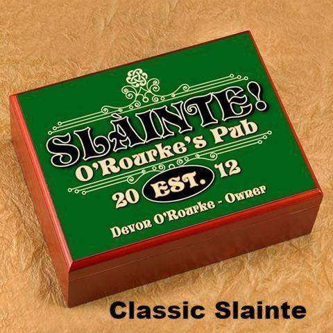 Irish Theme Humidors-Smoking-LTM Endeavors Gifts
