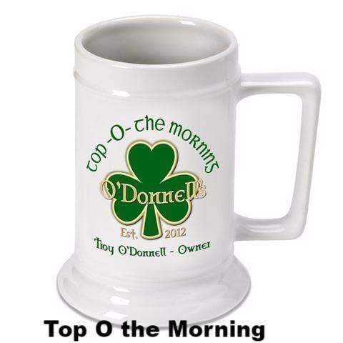 Irish Theme Stein-bar ware-LTM Endeavors Gifts