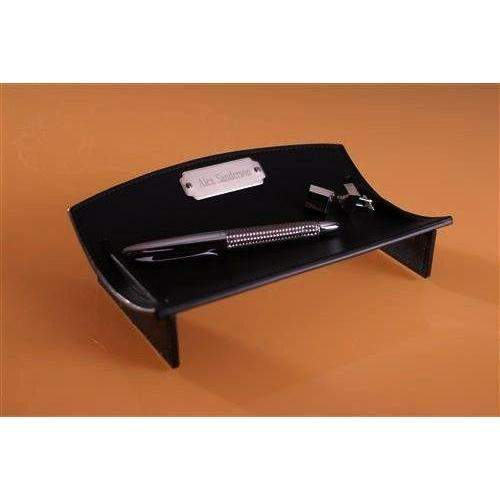 Leather Desk Caddie-Home Decor-LTM Endeavors Gifts