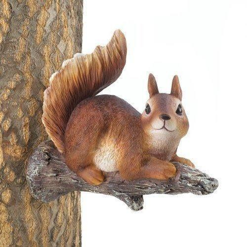 Lounging Squirrel Tree Decor-Garden decor-LTM Endeavors Gifts