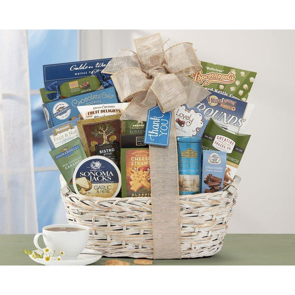 Many Thanks by Wine Country Gift Baskets-Gift Basket-LTM Endeavors Gifts