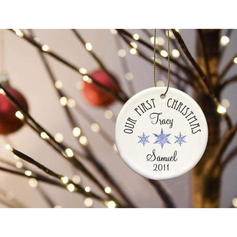 Our First Christmas Ornament - Available in 8 Designs-Home Decor-LTM Endeavors Gifts