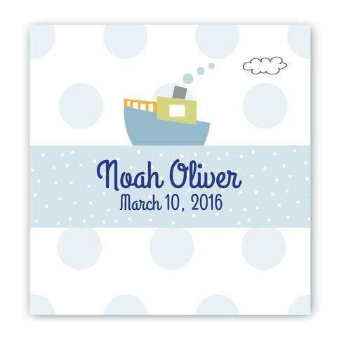 Personalized Baby Nursery Canvas Sign- 5 Designs-Canvas Sign-LTM Endeavors Gifts