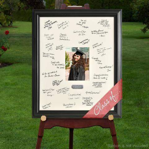 Personalized Graduation Signature Frame-Picture frame-LTM Endeavors Gifts
