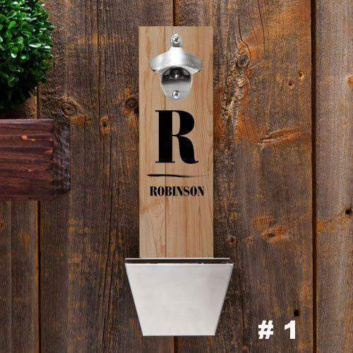 Personalized Wall Mounted Bottle Opener-Home Decor-LTM Endeavors Gifts
