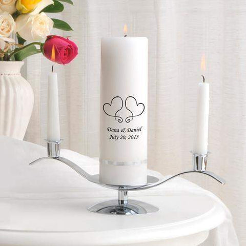 Premier Unity Candle and Stand Combo.-candle-LTM Endeavors Gifts