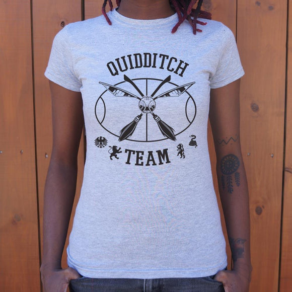 Quidditch Team Snitch T-Shirt (Ladies)-Ladies T-Shirt-LTM Endeavors Gifts