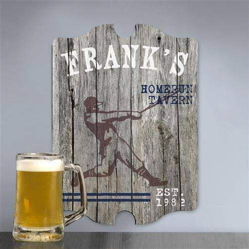 Sports Pub Man Cave and Tavern Signs - Personalized-Home Decor-LTM Endeavors Gifts