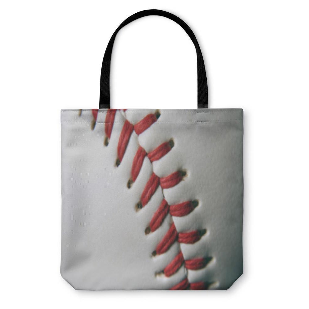 Tote Bag, Baseball Macro-Tote Bag-LTM Endeavors Gifts