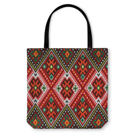 Tote Bag, Ukrainian National Ornament-Tote Bag-LTM Endeavors Gifts