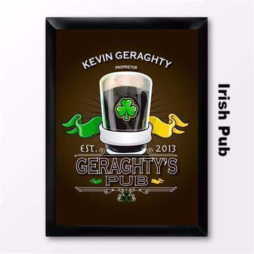 Traditional Irish Themed Pub Sign-Home Decor-LTM Endeavors Gifts