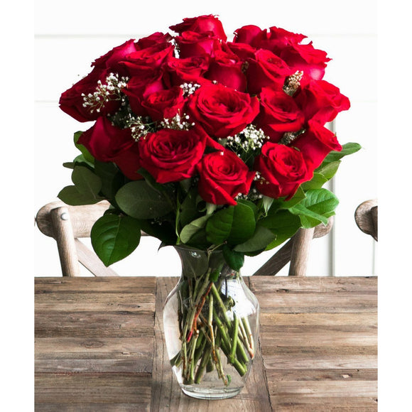 Two Dozen Red Roses-Flowers-LTM Endeavors Gifts