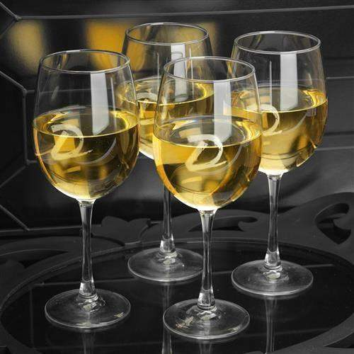 White Wine Quartet-Beverage ware-LTM Endeavors Gifts