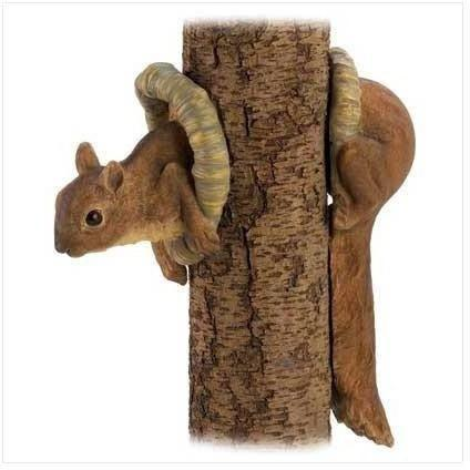 Woodland Squirrel Tree Decor-Garden decor-LTM Endeavors Gifts