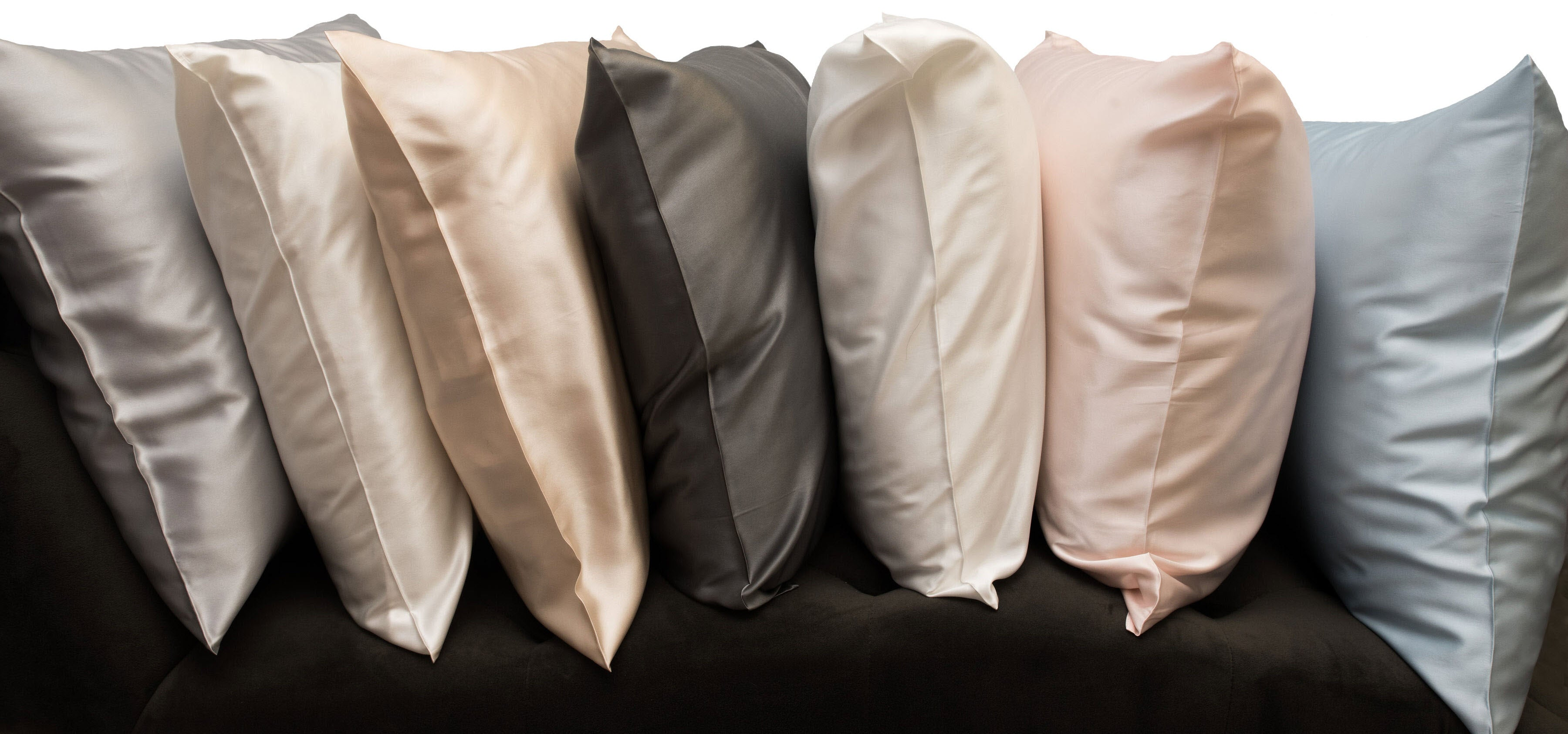 22 Momme Deluxe Pure Silk Pillowcases Colors - Real Silk Pillowcases