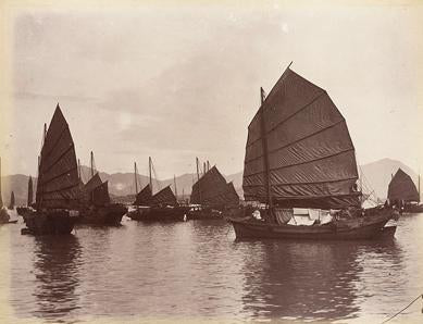 Chinese Silk Trading Ships