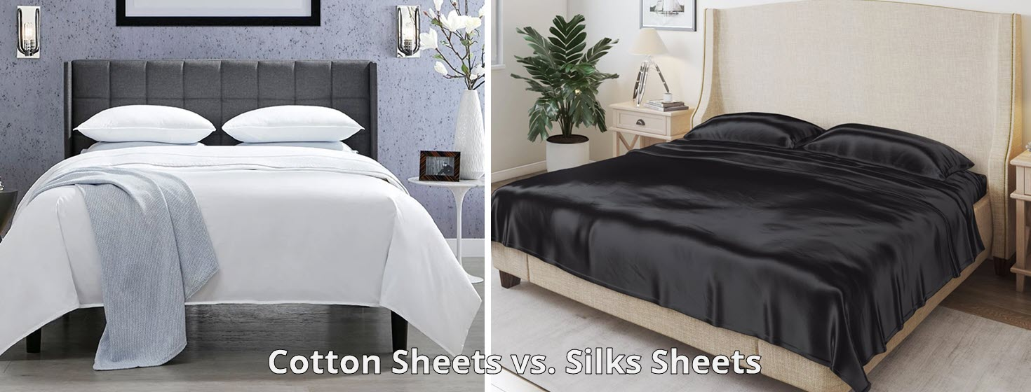 The Benefits of Cotton Sheets versus Silk Sheets