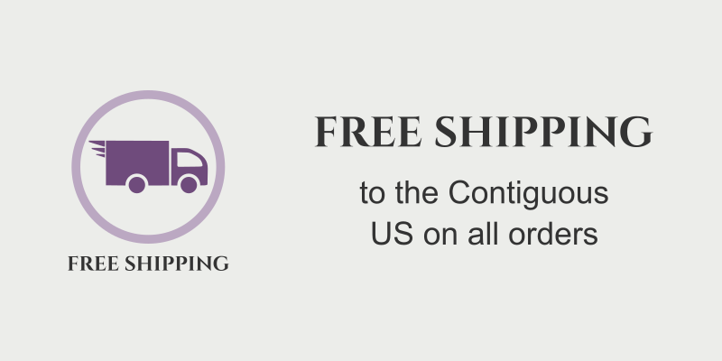 Free Shipping to the Contiguous US on all orders promo
